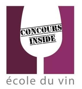 Affiche concours ecole du vin